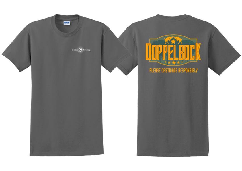 Doppelbock T-Shirt (Charcoal)