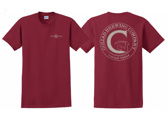 Goliad T-Shirt (Cardinal Red)