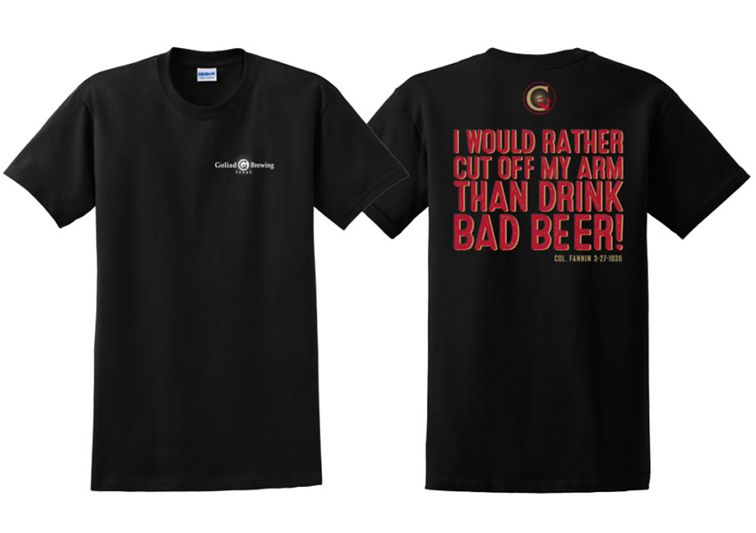 Bad Beer T-shirt (Black)