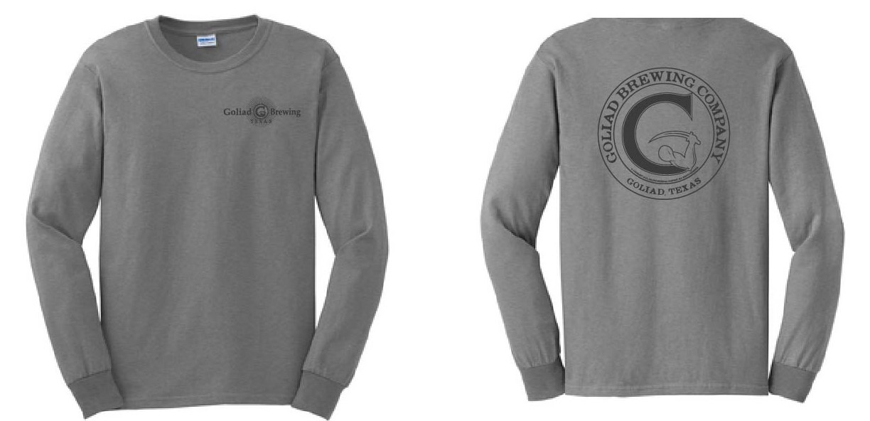 Goliad Shirt (LS) Grey