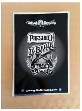 """Presidio La Bahia Metal Tacker 17.5"""" x 23.5"""""""