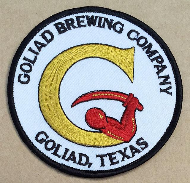 Goliad Sleeve Patch