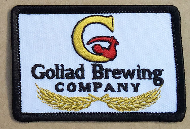 Goliad Small Left Chest Patch