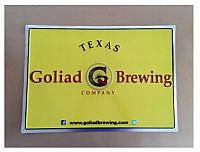 "Goliad Brewing Metal Tacker 17.5"" x 23.5"""