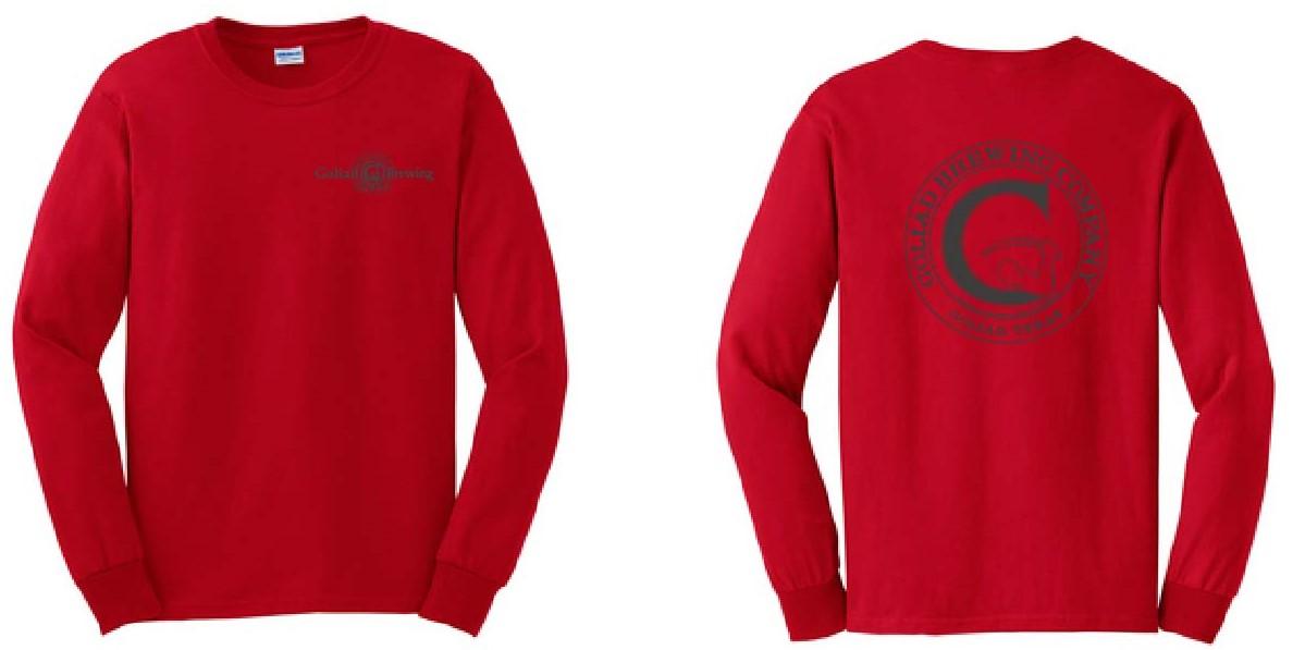 Goliad Shirt  Cherry Red L/S