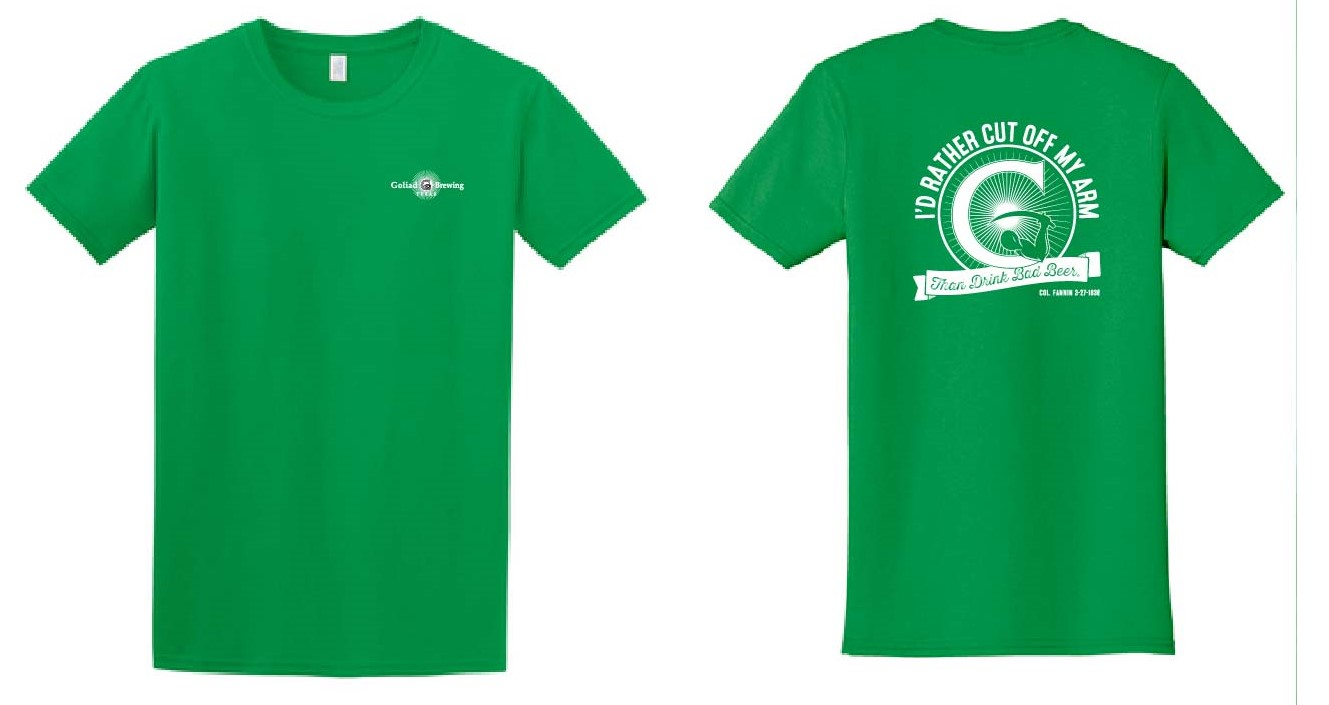 Bad Beer Logo Shirt Irish Green