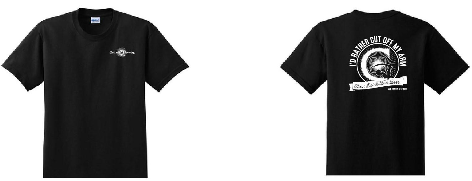 Bad Beer Logo Black T-Shirt